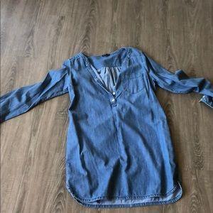 Jean Midi Dress